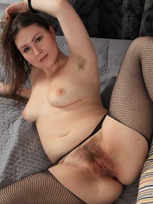 Monica hairy slut