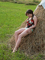 Malina from ATK Hairy free picture gallery